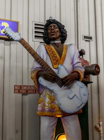 New Orleans Mardi Gras World - Jimi Hendrix