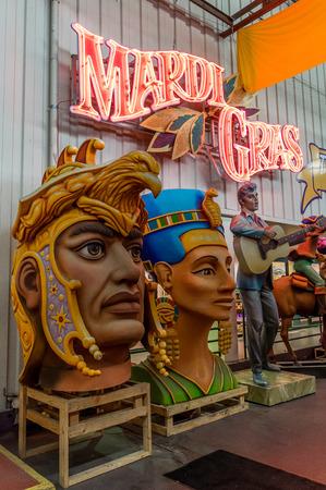 New Orleans Mardi Gras World Editöryel