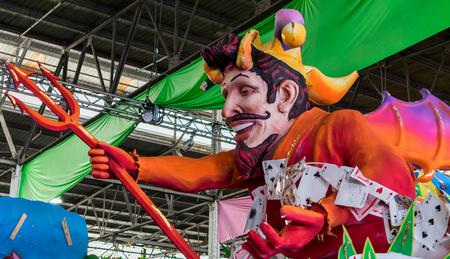 New Orleans Mardi Gras World Float