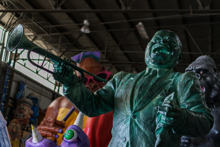 New Orleans Mardi Gras World - Louis Armstrong