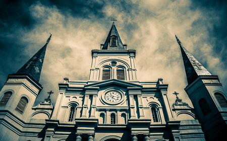 ニューオーリンズのセントルイス大聖堂