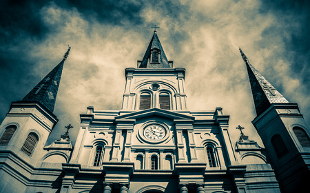 New Orleans Saint Louis Cathedral Stockfoto