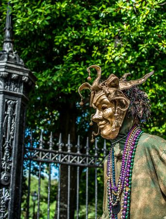 New Orleans French Quarter Street Performer
