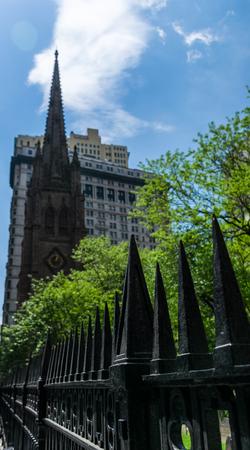 grave site: New York City Trinity Church