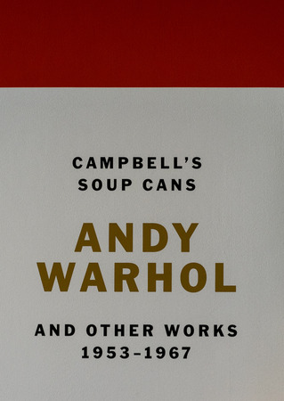 andy: New York City MOMA - Andy Warhol, Campbells Soup Cans