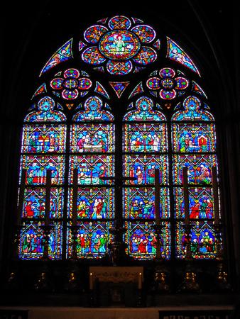 jorobado: París, Francia - Notre Dame - Side Chapel
