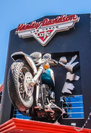 Las Vegas, NV USA - Harley Davidson Store Front