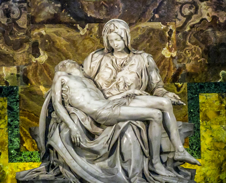 Vatican City - Saint Peters - Michelangelos Pieta