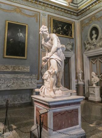イタリア、ローマのボルゲーゼ美術館 - Berninis ビッド