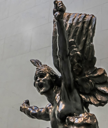 San Francisco, CA USA - The Legion of Honor - Rodins Victory