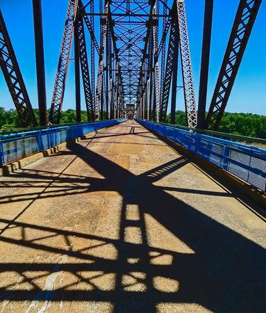 Saint Louis, MO USA - Chain Of Rocks Bridge