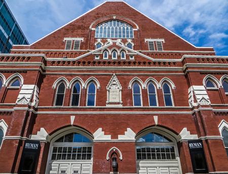 Nashville, TN USA - Ryman Auditorium