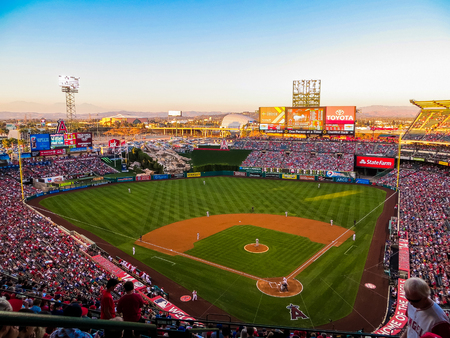 Anaheim, CA USA - Angel Stadium