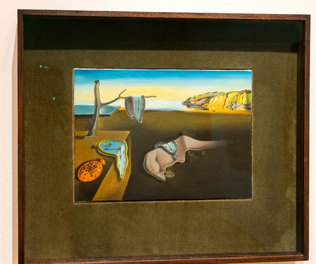 New York City MOMA - Salvador Dali - Persistence of Memory