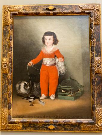 New York City The Met - Francisco de Goya - Manuel Osorio Manrique de Zuniga Editorial