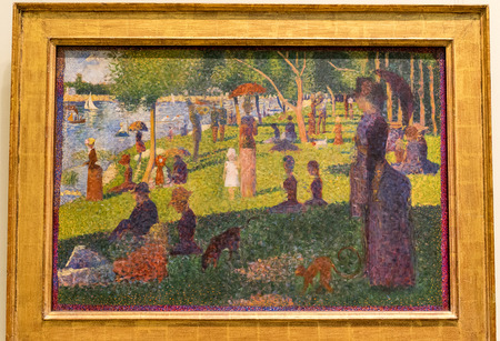 New York City The Met - Georges Seurat - A Sunday Afternoon on the Island of La Grande