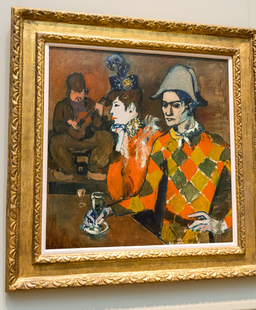New York City The Met - Pablo Picasso - At the Lapin Agile