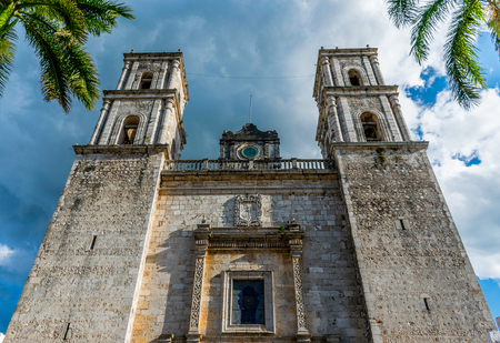 Valladolid, Mexico - The Cathedral of San Gervasio