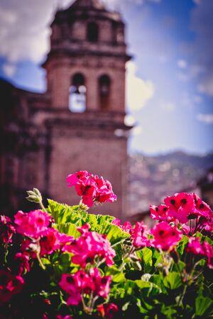 San Francisco cathedral in Cusco, Peru.