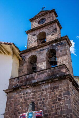 San Blas church in Cusco, Peru.