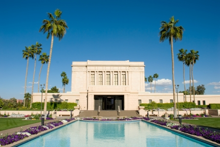 mormon temple: Mesa Arizona Mormon Temple