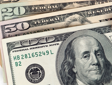 Money from the United States Stock Photo - 17257856