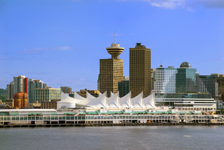 Vancouver British Columbia from the Harbor