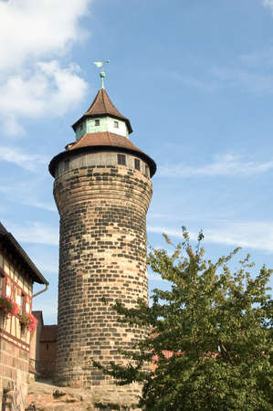 The Nuremberg Castle is located on a sandstone rock in the north of the historical city of Nuremberg, Germany. The castle was damaged in the Second World War but has been reconstructed. Today it is one of the main landmarks in Nuremberg.