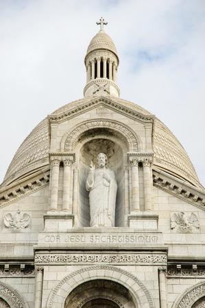 Basilica Sacre Coeur on Montmartre, Paris