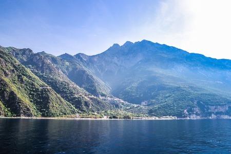 Mount Athos, Greece Agiou Pavlou or St. Pauls Monastery. Stock Photo