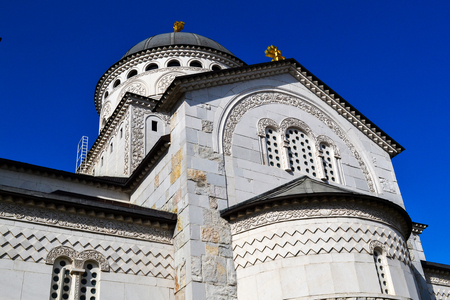 Cathedral of the Resurrection of Christ in Podgorica, Montenegro Stock Photo