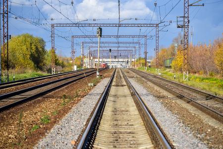 Railway pointwork, railway tracks, high-speed rail