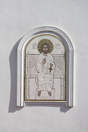Element of slavic church exterior