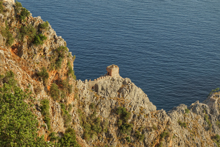 Alanya Castle, Turkey, beach, sea, Mediterranean