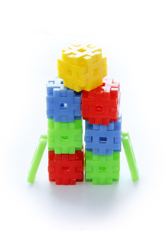 stable: Colourful of construction toys, abstract of construction, stable  organization, stable business