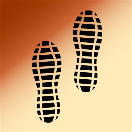 and soles: Black Imprint soles shoes, Illustration Illustration