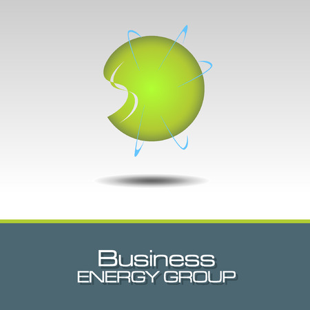 tending: Abstract Icon template. ECO and Energy Concept. Illustration