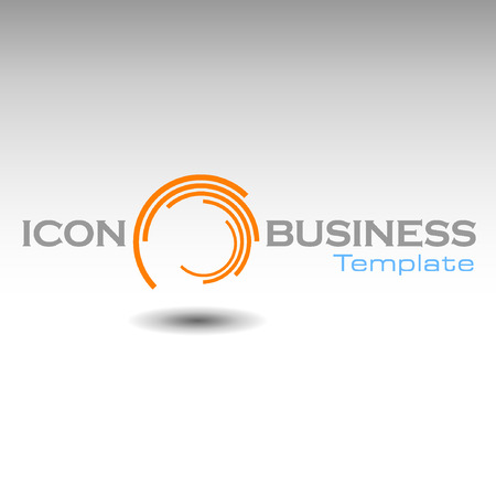 tending: Abstract Icon template. Marketing and organize activity icon.Illustration