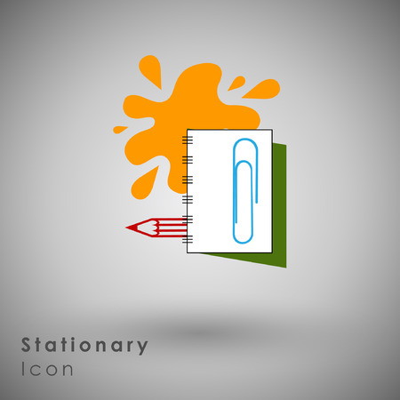 tending: Abstract Icon template.Education and Knowledge Concept. Illustration Illustration