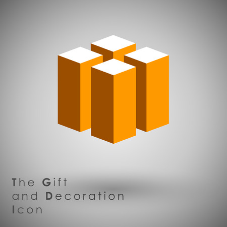 tending: Abstract Icon template.Business and Inovaion Concept. Illustration