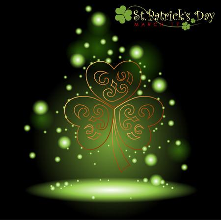 stpatrick: Abstrackt of St.Patricks Day, Background Design, Illustration, EPS 10.