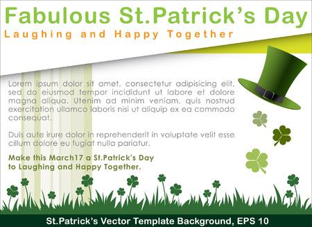 stpatrick: Abstrackt of St.Patrick Illustration