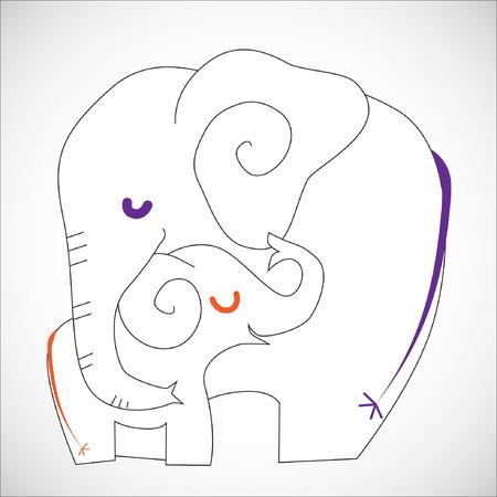 nursing mother: Enfermer�a Cartoon.Illustration Animal, 10 EPS