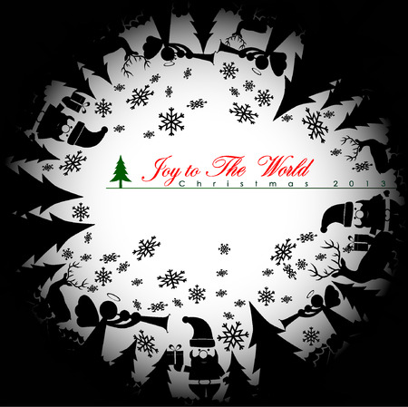 santa s bag: Abstract Christmas Background.Illustration, EPS 10. Illustration
