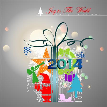 santa s bag: Abstract Christmas Background.Illustration, EPS 10