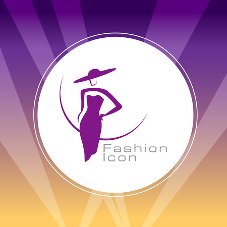 tending: Abstract Icon template.Beauty and Fashion Concept. Illustration, EPS 10