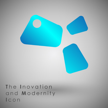 tending: Abstract Icon template.Business and Inovaion Concept. Illustration, EPS 10