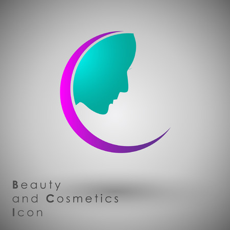 rushing: Abstract Icon template.Beauty and Fashion Concept. Illustration, EPS 10