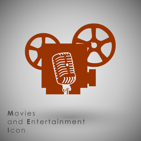 tending: Abstract Icon template.Entertainment Concept.