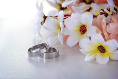 Pair Of Wedding Rings.